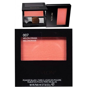 Revlon Blush Powder - Melon Drama for Women, 0.17 oz