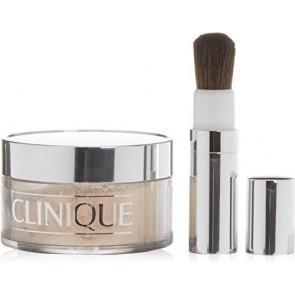 Clinique Blended Face Powder And Brush - 08 Transparency Neutral for Women, 1.2 oz