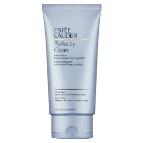 Estee Lauder Perfectly Clean Multi-Action Foam Cleanser/Purifying Mask , 5 oz