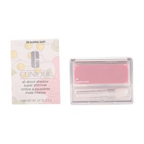 Clinique All About Shadow Super Shimmer - Bubble Bath - Pink for Women, 0.07 oz