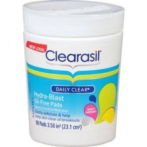Clearasil Daily Clear Hydra-Blast Oil-Free Pads