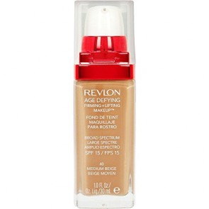 Revlon Age Defying Firming +Lifting Foundation - Medium Beige, 1.0 oz