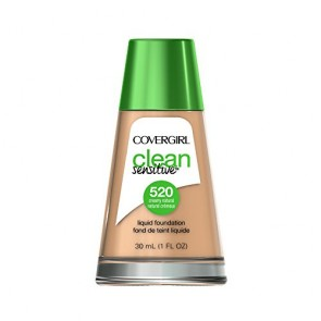CoverGirl Clean Liquid Foundation  - 120 Creamy Natural for Women, 1 oz