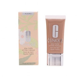 Clinique Stay Matte Oil Free Makeup - 14 Vanilla for Women, 1.0 oz