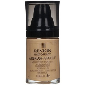 Revlon Photoready Airbrush Effect Foundation - Rich Ginger for Women, 1.0 oz