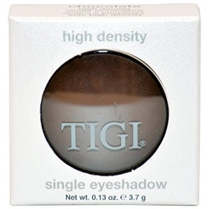 Tigi High Density Single Eyeshadow - Chocolate for Women, 0.13 oz
