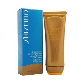 Shiseido Brilliant Bronze Self-Tanning Emulsion (For Face & Body) , 3.5 oz