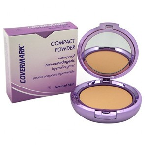 Covermark Compact Powder Waterproof Normal Skin  - 1A for Women, 0.35 oz