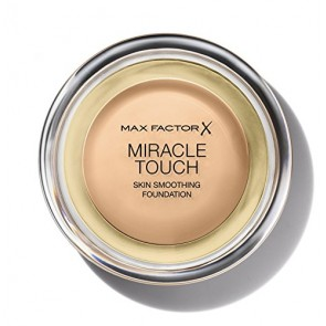 Max Factor Miracle Touch Liquid Illusion Foundation  - 75 Golden for Women, 11.5 g
