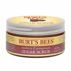 Burt's Bees Cranberry & Pomegranate Sugar Scrub  for Women, 8 oz