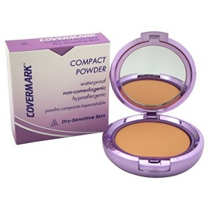 Covermark Compact Powder Waterproof Dry Sensitive Skin  - 4 for Women, 0.35 oz