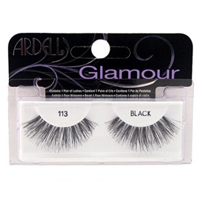 Ardell Glamour Lashes  - 113 Black for Women