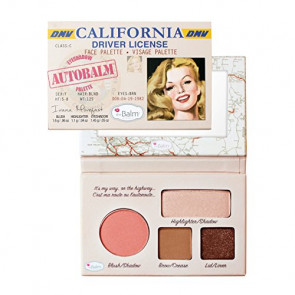 theBalm Autobalm Face Pelette - California for Women