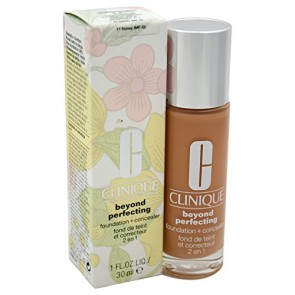 Clinique Beyond Perfecting Foundation+Conceale  - 11 Honey for Women, 1 oz