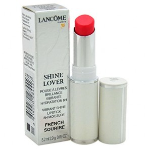 Lancome Shine Lover Vibrant Shine Lipstick  - 340 French Sourire for Women, 0.09 oz