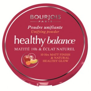 Bourjois Healthy Balance Unifying Powder Compact  - 56 Hale Clair for Women, 0.32 oz