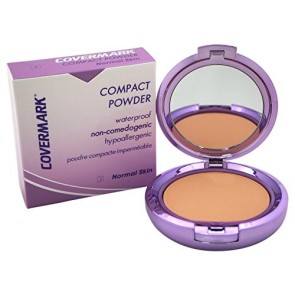 Covermark Compact Powder Waterproof Normal Skin  - 2 for Women, 0.35 oz