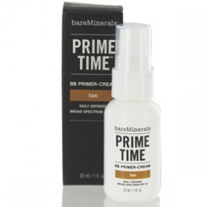 Bareminerals Prime Time Bb Primer Cream Daily Defense - Tan for Women, 1.0 oz