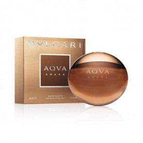 Bvlgari Aqva Amara Eau de Toilette Spray for Men, 1.7 oz