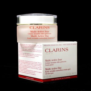 Clarins Multi-Active Day Early Wrinkle Correction Cream Gel , 1.7 oz