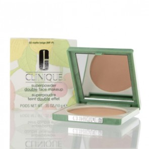 Clinique Super Powder Double Face Makeup - 02 Matte Beige for Women, 0.35 oz