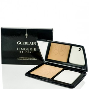 Guerlain Lingerie De Peau Powder Foundation Moisture  - Light Beige for Women, 0.35 oz