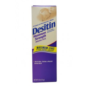 Johnson's Desitin Diaper Rash Maximum Strength Original Paste  for Kids