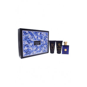 Versace Dylan Blue 3 Piece Gift Set for Men, Gift Set