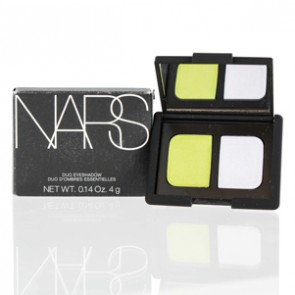 Nars Duo Shimmer Eyeshadow Powder - Tropical Princess - Lime Green/ Lilac for Women, 0.14 oz