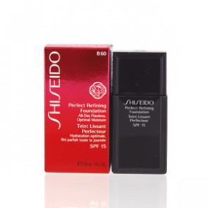 Shiseido Perfect Refining Foundation  - (B 60) (SPF 15), 1.0 oz