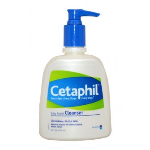 Cetaphil Daily Facial Cleanser For Normal To Oily Skin , 8 oz