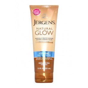 Jergens Natural Glow Revitalizing Daily Moisturizer  - For Medium Tan Skin Tones, 7.5 oz