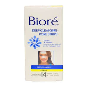 Biore Face & Nose Deep Cleansing Pore Strips