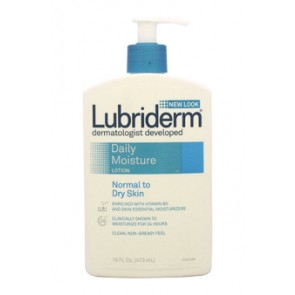 Lubriderm Daily Moisture Lotion - Normal To Dry Skin, 16 oz