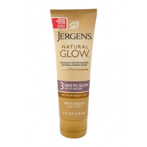 Jergens Natural Glow 3 Days To Glow Moisturizer , 4 oz