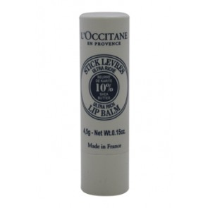 L'Occitane Shea Butter Lip Balm Stick , 0.15 oz