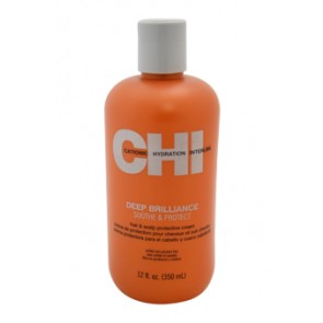 CHI Deep Brilliance Soothe & Protect Cream , 12 oz