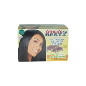 Africa's Best No-Lye Dual Conditioning Relaxer System  for Unisex