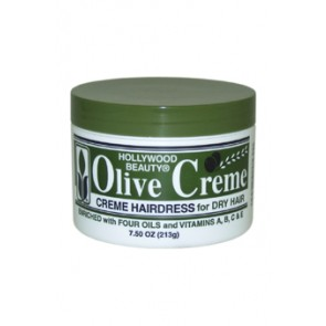 Hollywood Beauty Hollywood Beauty Olive Cream Hairdress  for Unisex