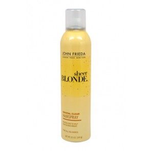 John Frieda Sheer Blonde Crystal Clear Shape & Shimmer Hair Spray  for Unisex