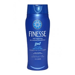 Finesse Self Adjusting 2 In 1 Texture Enhancing Shampoo And Conditioner  for Unisex
