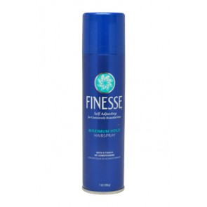 Finesse Self Adjusting Maximum Hold Hairspray  for Unisex