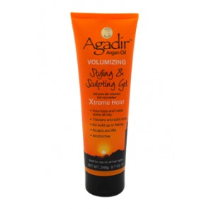 Agadir Argan Oil Volumizing Styling & Sculpting Gel Xtreme Hold  for Unisex