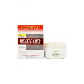 L'Oreal Paris Revitalift Anti-Wrinkle & Firming Moisturizer For Face & Neck , 1.7 oz