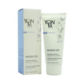 Yonka Masque Purifying Clarifying Mask  - 105 Dry Or Sensitive Skin, 3.3 oz