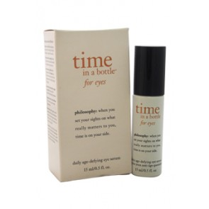 Philosophy Time In a Bottle For Eyes Daily Age-Defying Serum , 0.5 oz