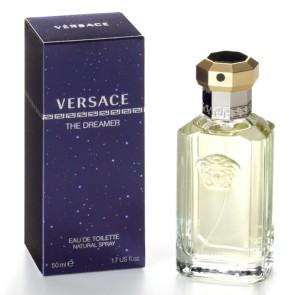 Versace Dreamer Eau de Toilette Spray for Men, 1.6 oz