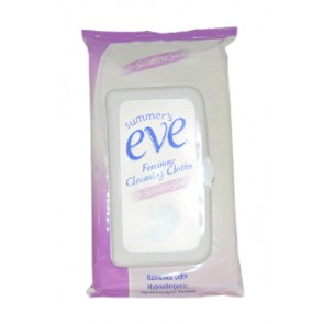 Summer's Eve Feminine Cleansing Cloths For Sensitive Skin for Women