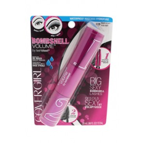 CoverGirl Bombshell Volume Waterproof Mascara - 810 Black Brown for Women, 0.66 oz