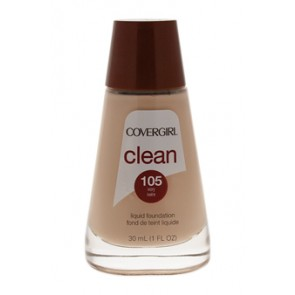 CoverGirl Clean Liquid Foundation  - 105 Ivory for Women, 1 oz